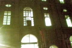 Egizio 2010 marzo Tomba di Kha esterno grande finestra 2