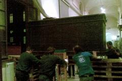 Egizio 2010 marzo Tomba di Kha esterno grande preparazione