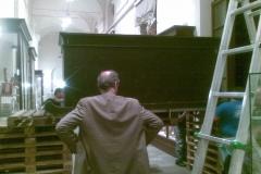 Egizio 2010 marzo Tomba di Kha esterno grande senza basamento improntato